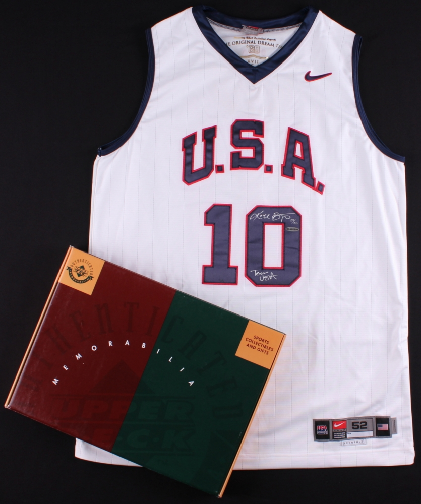 7a3a80cbe Kobe Bryant Signed LE Team USA