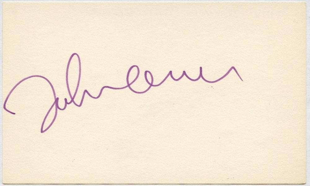John Lennon Signatures : john lennon signed vintage unlined 3x5 index card jsa loa pristine auction ~ Hamham.info Haus und Dekorationen