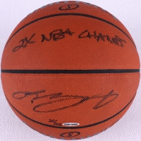 "LeBron James Signed LE Official NBA Game Ball Inscribed ""2x NBA Champs"" (UDA COA)"