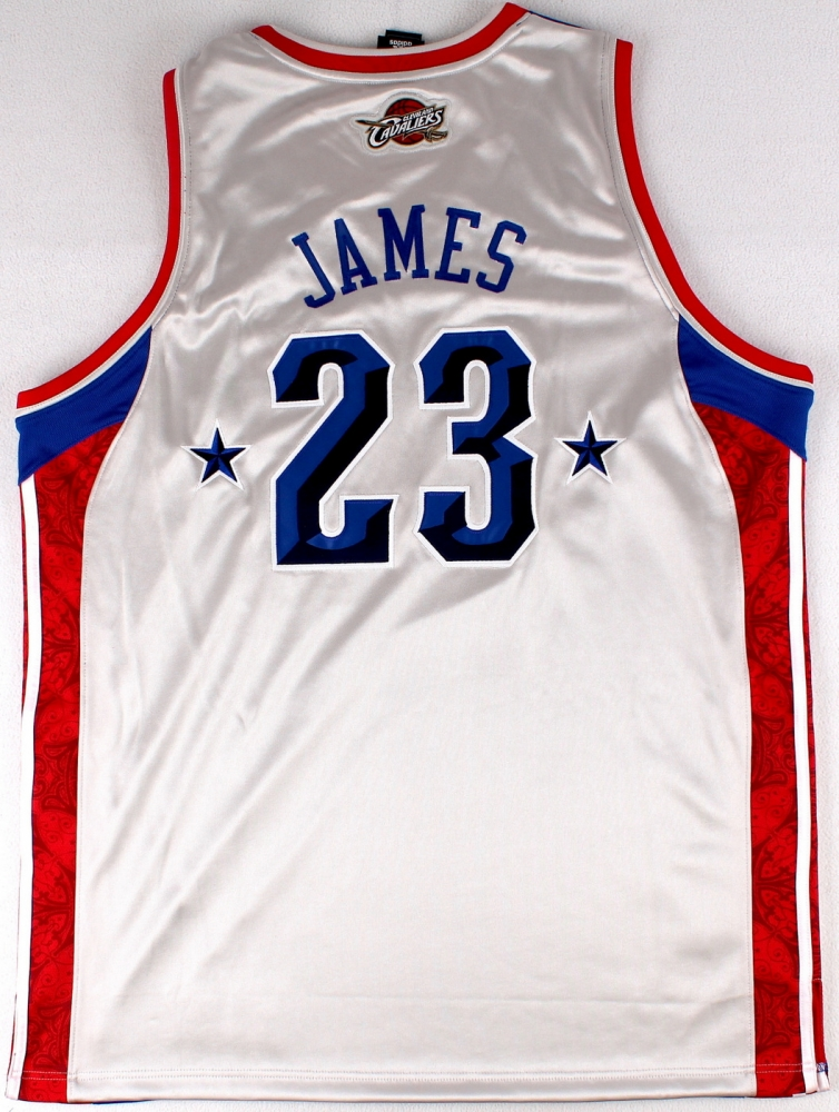 31e5091b7b14 LeBron James Signed LE 2008 Eastern Conference All-Star Authentic Adidas  On-Court Jersey