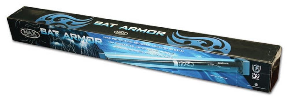 baseball bat max pro bat armor premium display case new at