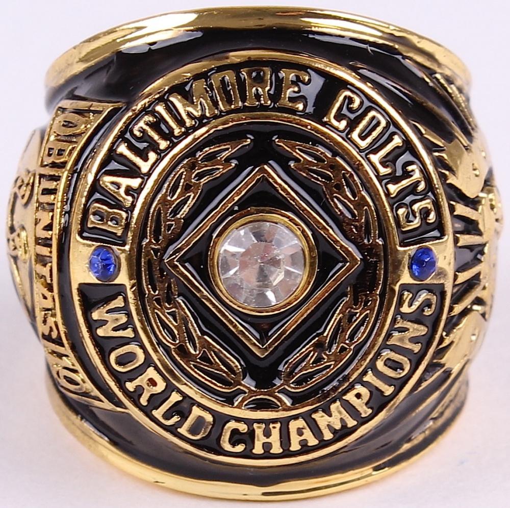 Baltimore Colts Championship Ring