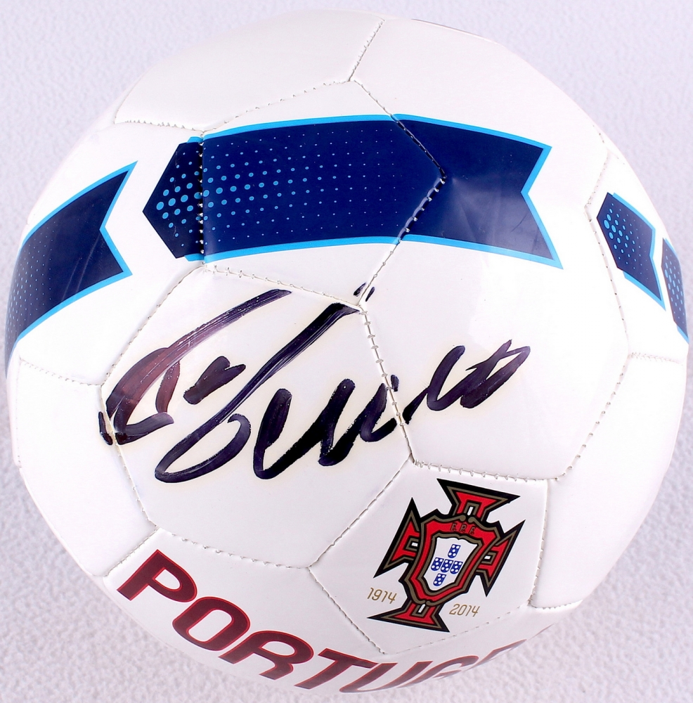 9b33962a754 Cristiano Ronaldo Signed Portugal Nike Soccer Ball with Display Case (PSA  COA) at PristineAuction
