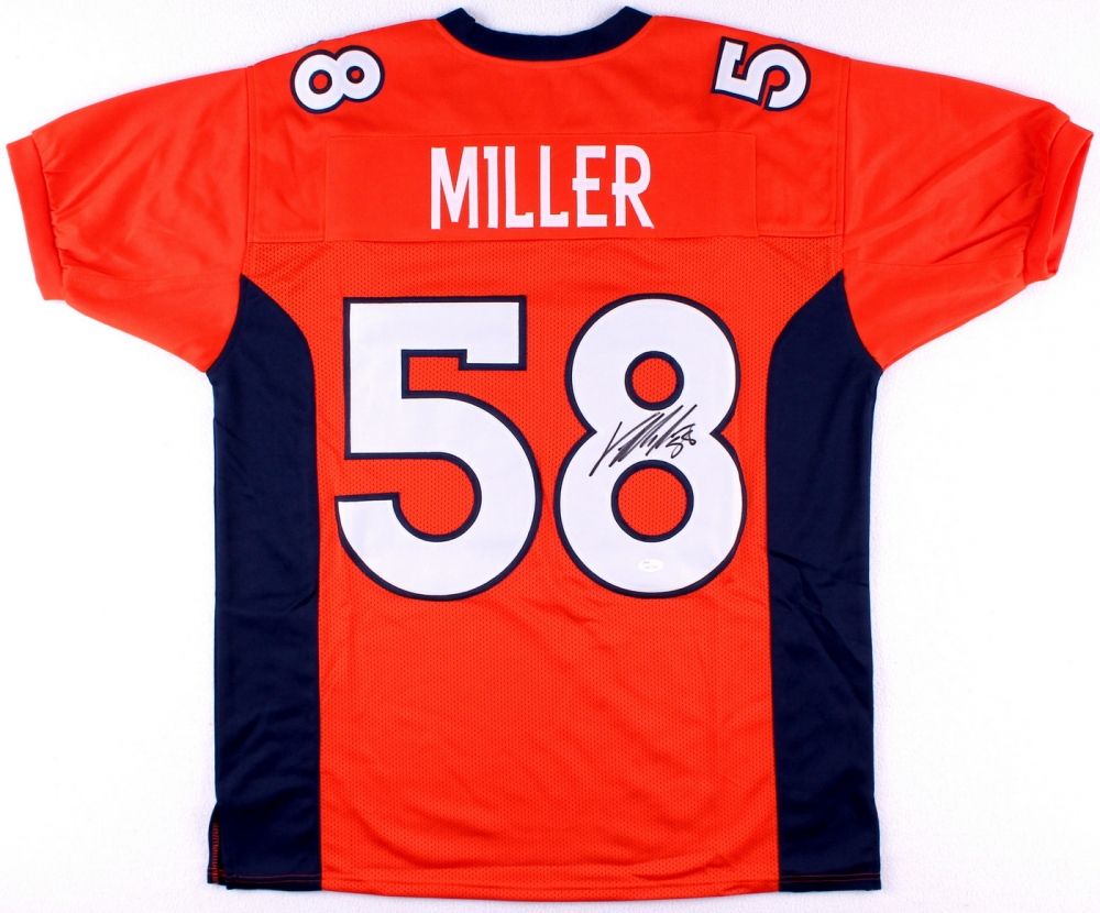 huge discount 09e63 67c9a amazon von miller jersey signed 7cfc8 acdf5