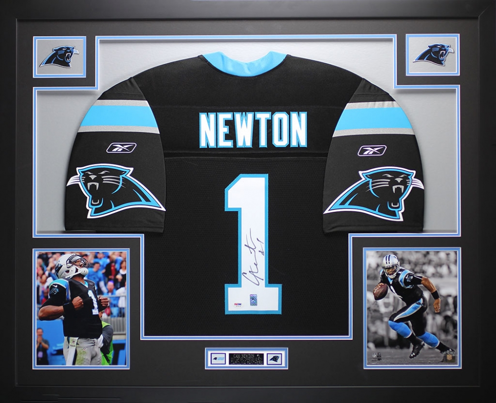 Image result for cam newton signed jersey