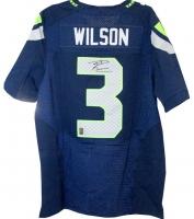 Russell Wilson Signed Seahawks Nike Elite Authentic Jersey (Wilson COA)