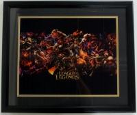 """League of Legends"" 22x27 Custom Framed Photo Display"