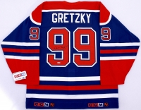 Wayne Gretzky Signed Oilers Authentic Jersey (UDA COA)