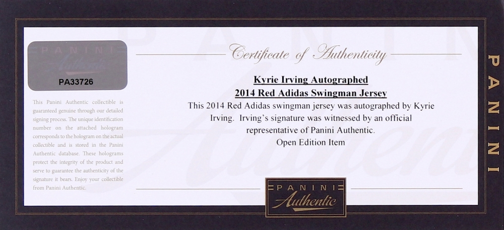 5deef13f5369a Kyrie Irving Signed Cavaliers Authentic Adidas On-Court Jersey (Panini COA)  at PristineAuction