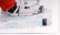 Henrik Lundqvist Signed Rangers 22x26 Giclee on Canvas (Steiner COA) at PristineAuction.com