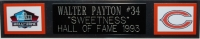 Walter Payton Signed Bears 35x43 Custom Framed Jersey with (5) Career Stat Inscriptions (PSA LOA & Payton Hologram) at PristineAuction.com