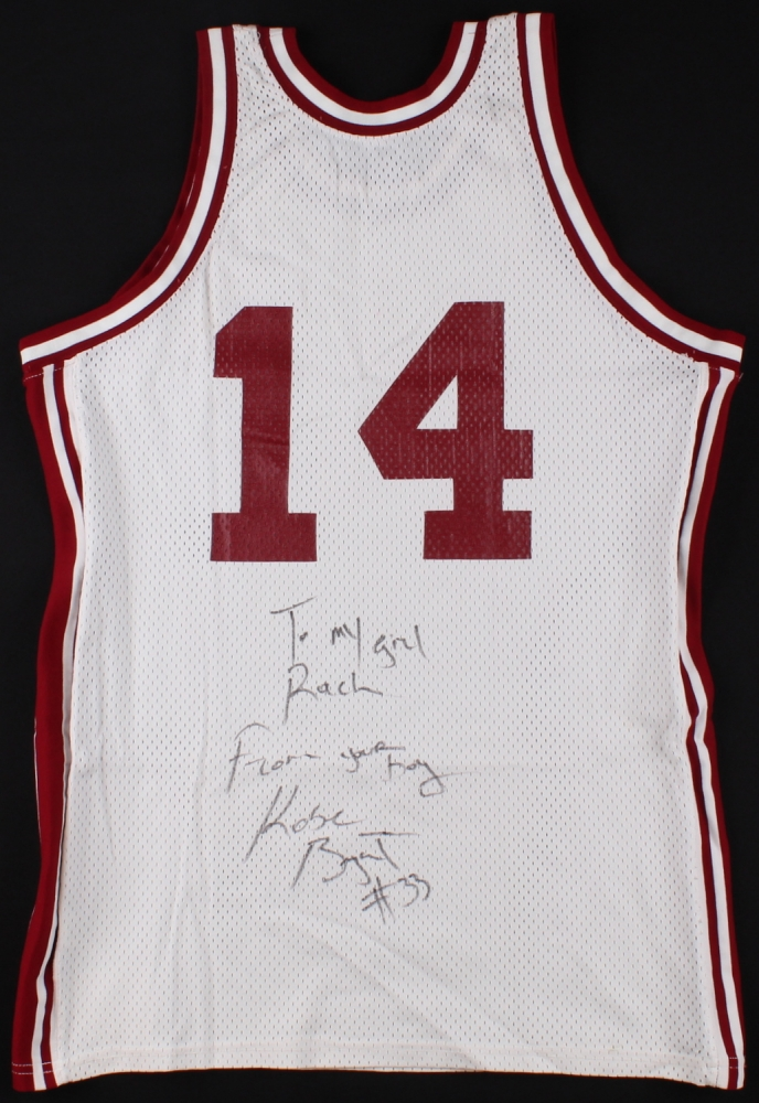 1bec7cb02 Kobe Bryant Signed Team Issued Lower Merion High School Jersey (PSA LOA) at  PristineAuction