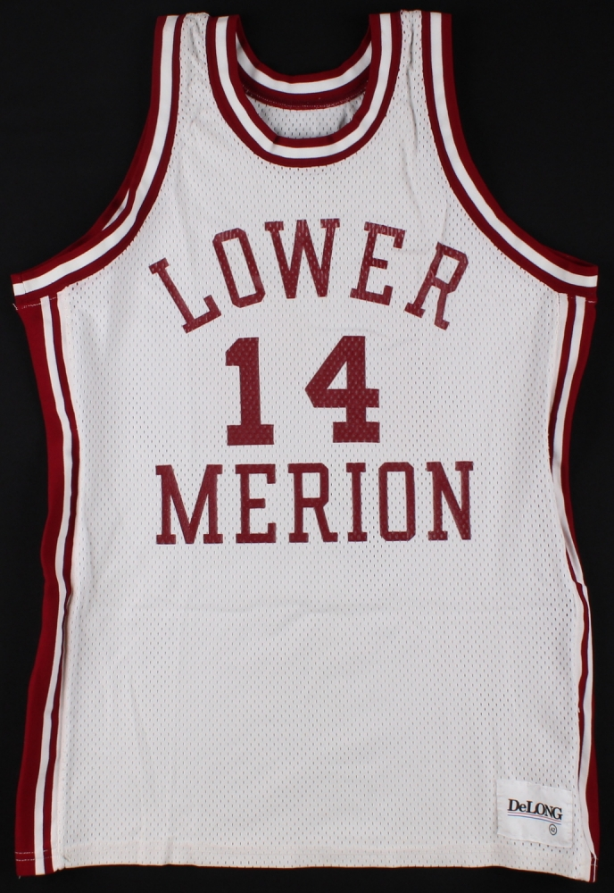 Kobe Bryant Signed Team Issued Lower Merion High School Jersey ...