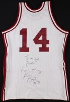 Kobe Bryant Signed Team Issued Lower Merion High School Jersey (PSA LOA)