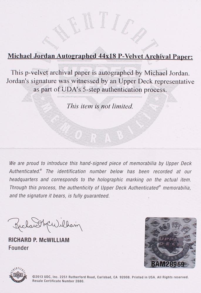 2f886882091 Michael Jordan Signed Bulls