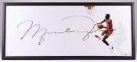"Michael Jordan Signed Bulls ""The Show"" 20x46 Custom Framed Acrylic Photo UDA COA)"