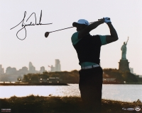 "Tiger Woods Signed LE ""Lady Liberty"" 16x20 Photo (UDA COA)"