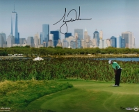 "Tiger Woods Signed LE ""New York City Skyline"" 16x20 Photo (UDA COA)"