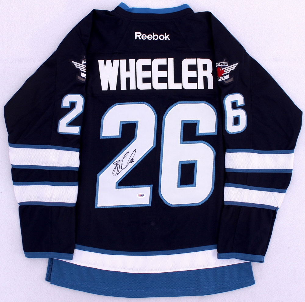Blake Wheeler Signed Jets Jersey (PSA COA) at PristineAuction.com 6a1aeaca5871