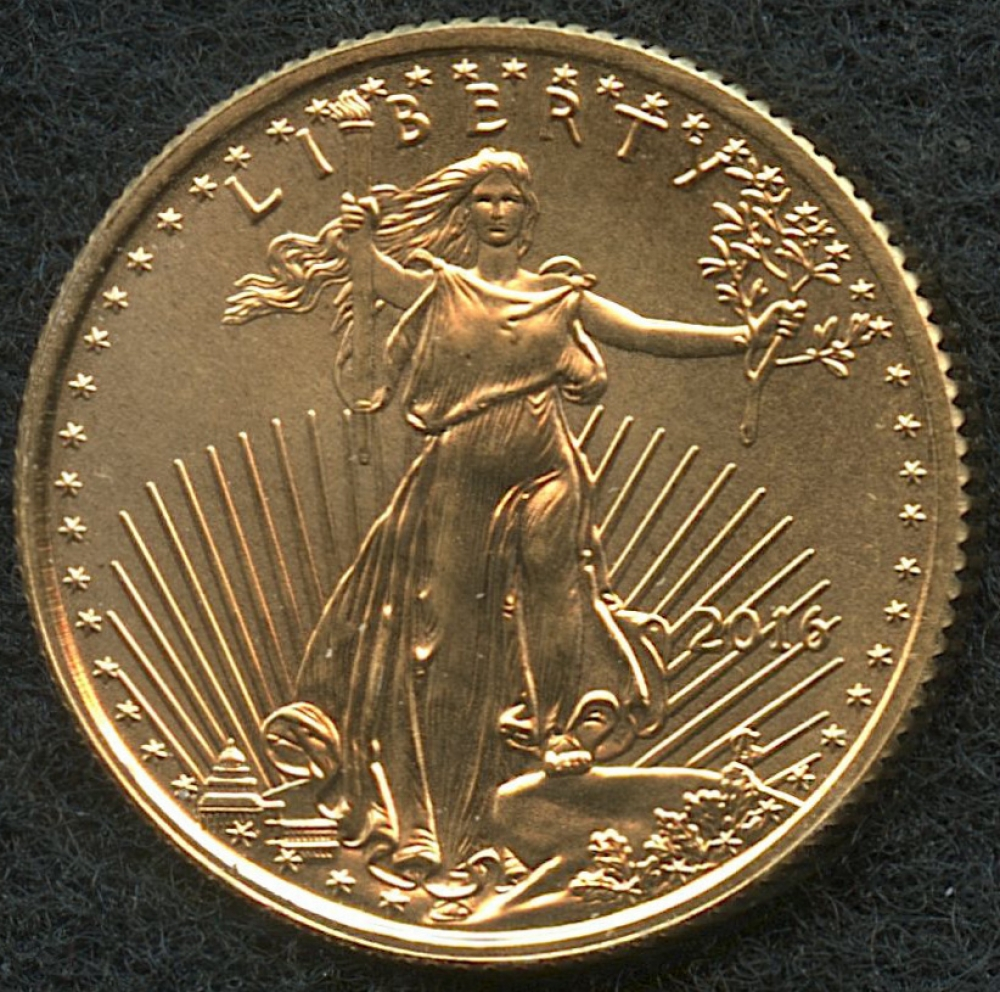 American Gold Eagle Weight February 2019