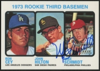 Mike Schmidt 1998 Topps Stars Rookie Reprints Autographs #4 at PristineAuction.com