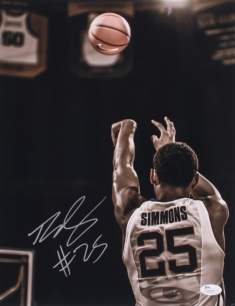 Ben Simmons Signed LSU 11x14 Photo (JSA COA) at PristineAuction.com efdbcbce0