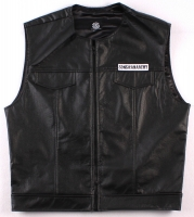 """Sons of Anarchy"" Vest with Reaper Patch (Size XL) at PristineAuction.com"