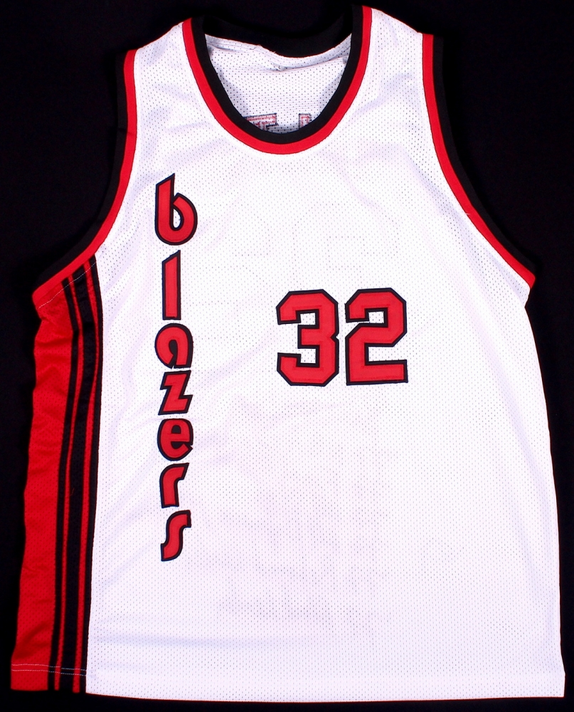 Portland Blazers Number 30: Online Sports Memorabilia Auction