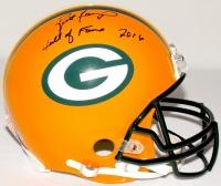 """Brett Favre Signed LE Packers Full-Size Authentic Pro-Line Helmet Inscribed """"Hall of Fame 2016"""" #7/444 (Favre Hologram & COA)"""
