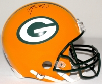 Aaron Rodgers Signed Packers Full-Size Authentic Proline Helmet (Radtke COA & Fanatics Hologram)