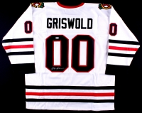 "Chevy Chase Signed ""Griswold"" Blackhawks Jersey (PSA COA) at PristineAuction.com"