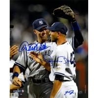 Derek Jeter & Mariano Rivera Signed Yankees 8x10 Photo (MLB & Steiner COA) at PristineAuction.com