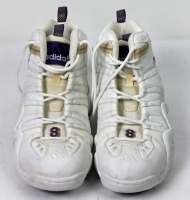 Pair of (2) Kobe Bryant Signed 1999 Lakers Game-Used Adidas Basketball Shoes (PSA COA) at PristineAuction.com