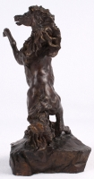 "LeRoy Neiman ""Defiant"" 1987 LE Bronze Sculpture #7/350 at PristineAuction.com"