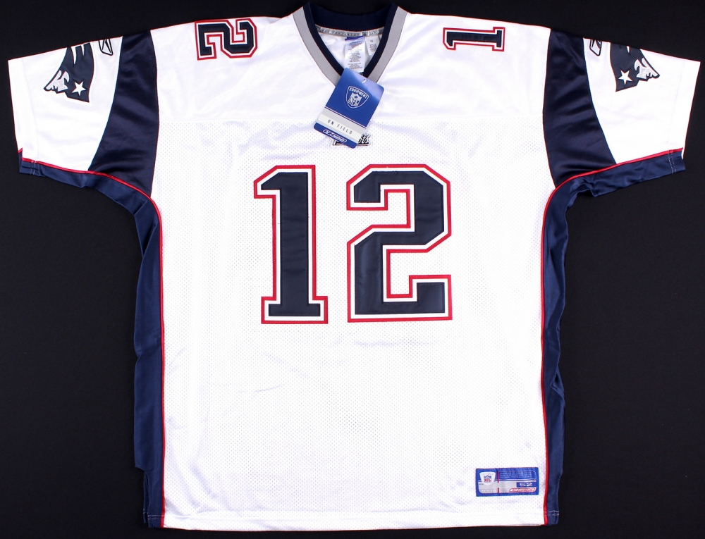 tom brady authentic reebok jersey