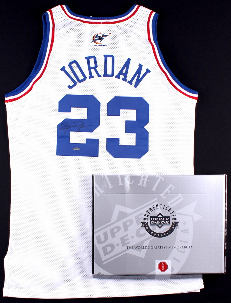 8fec351069f Michael Jordan Signed Authentic 2003 All-Star Game Jersey (UDA COA) at  PristineAuction