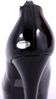 "Ed O'Neill Signed Black High Heel Shoe Inscribed ""Al Bundy"" (Schwartz COA) at PristineAuction.com"