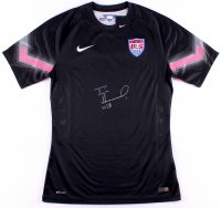 "Tim Howard Signed Team USA Goalkeeper Jersey Inscribed ""USA"" (JSA COA & Howard Hologram)"