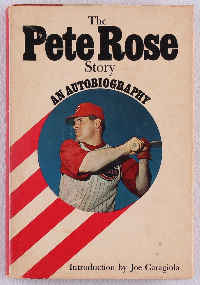 The Pete Rose Story An Autobiography (1970 Hardcover)