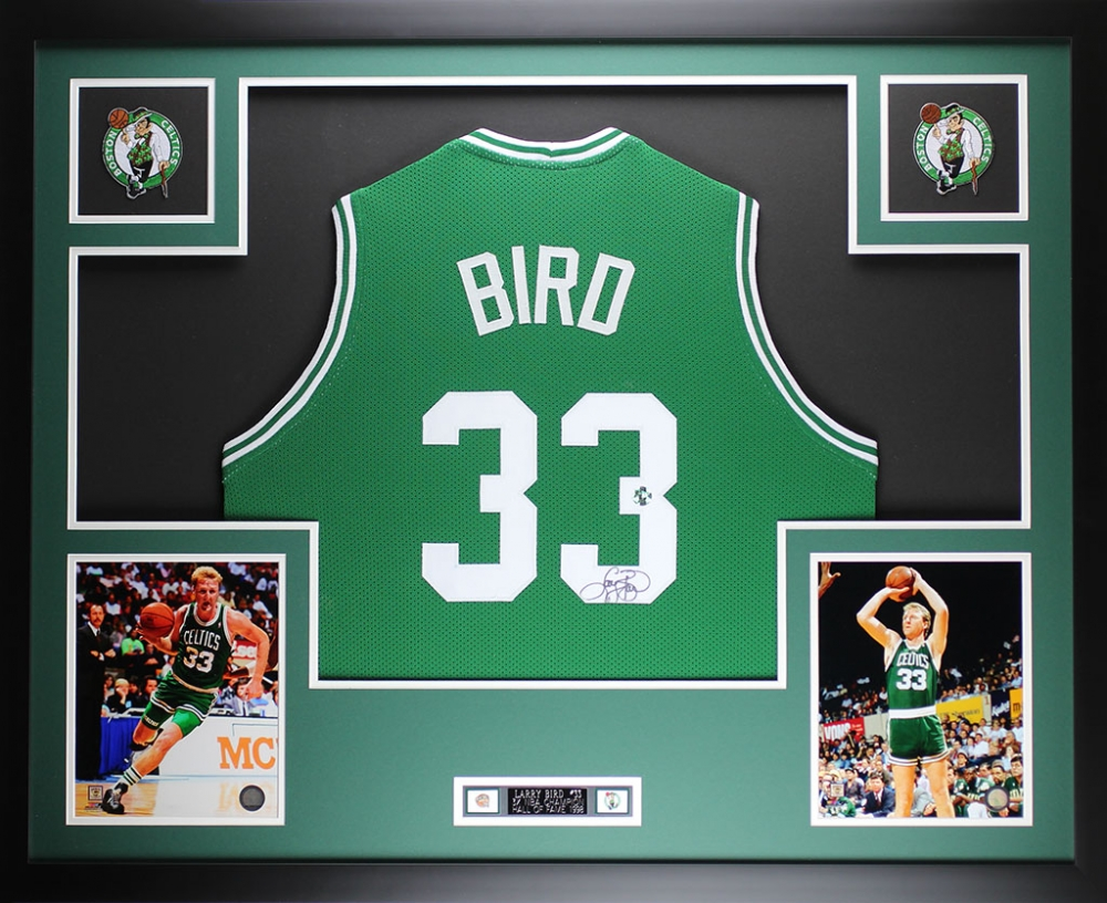 0a083b7adcd Larry Bird Signed Celtics 35