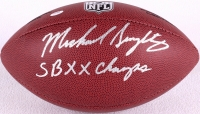 """Mike Singletary Signed Football Inscribed """"SB XX Champs"""" (Schwartz COA) at PristineAuction.com"""