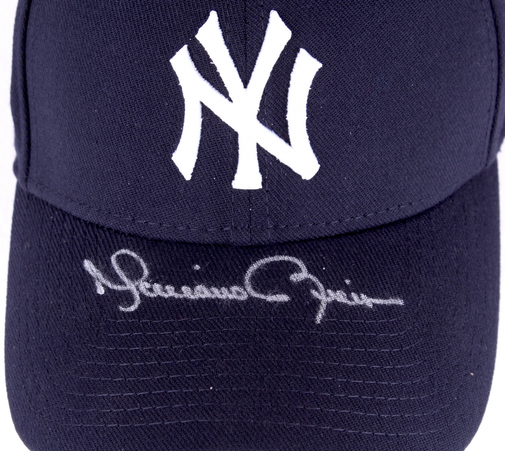 5bcb9d1f68b Mariano Rivera Signed Yankees Fitted Wool Hat with Retirement Logo Patch  (Steiner COA) at