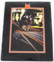 1991 DC Comics Batman Limited Edition 11x14 Zanart Movie Card