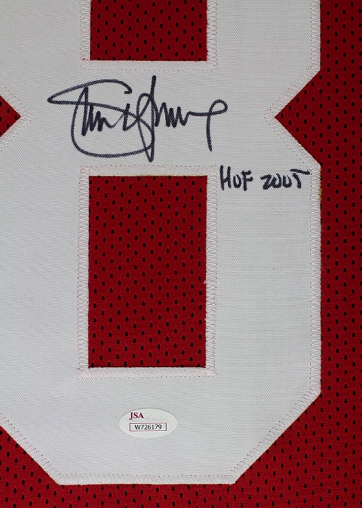 47cdf0fa0bb Steve Young Signed 49ers 35