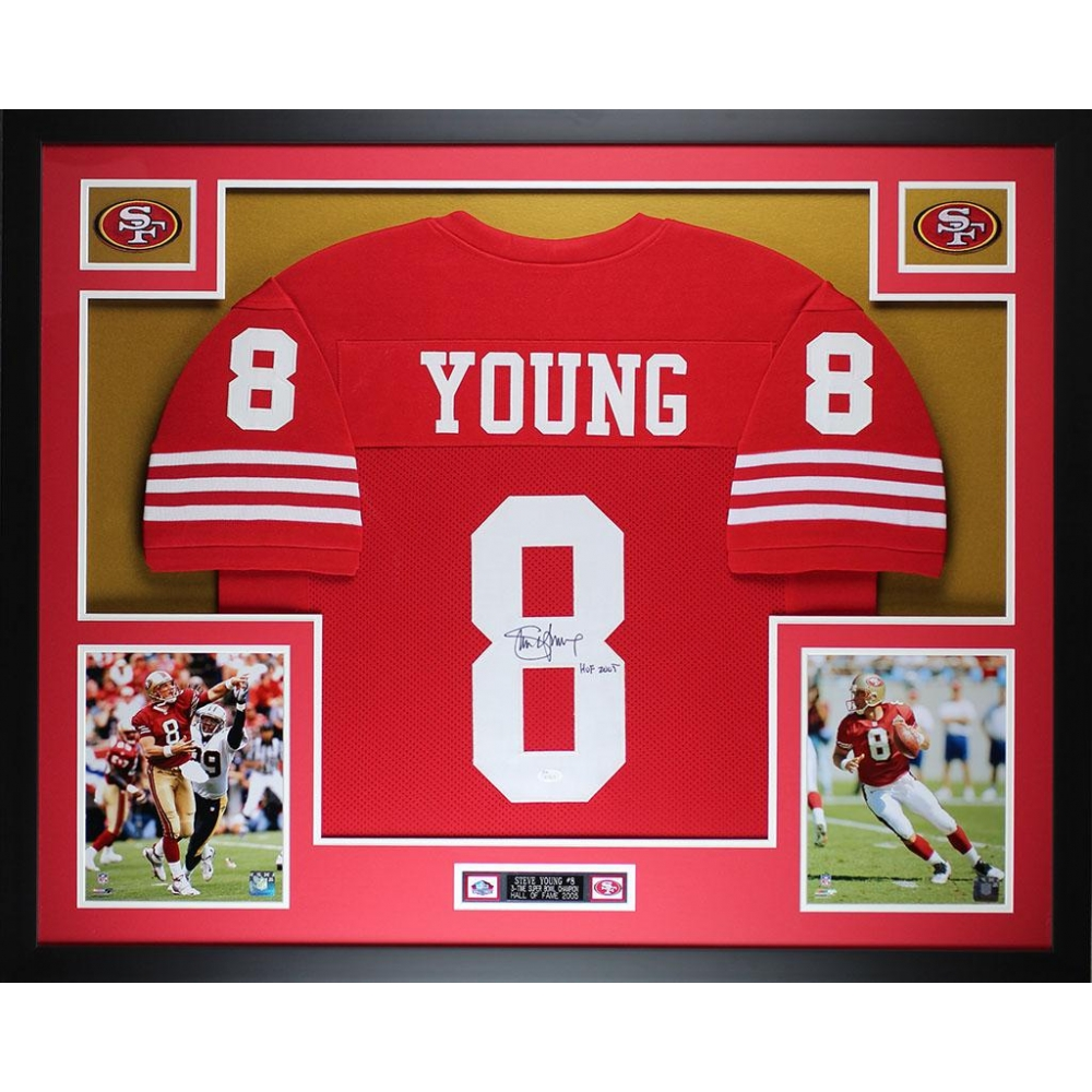 4fed0abdd6f Steve Young Signed 49ers 35