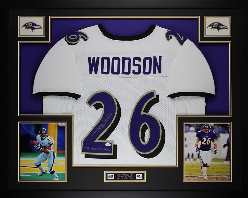 c61d5476d5c Rod Woodson Signed Ravens 35