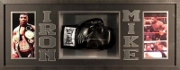Mike Tyson Signed 39x15x4 Custom Framed Shadowbox Boxing Glove Display (JSA) at PristineAuction.com