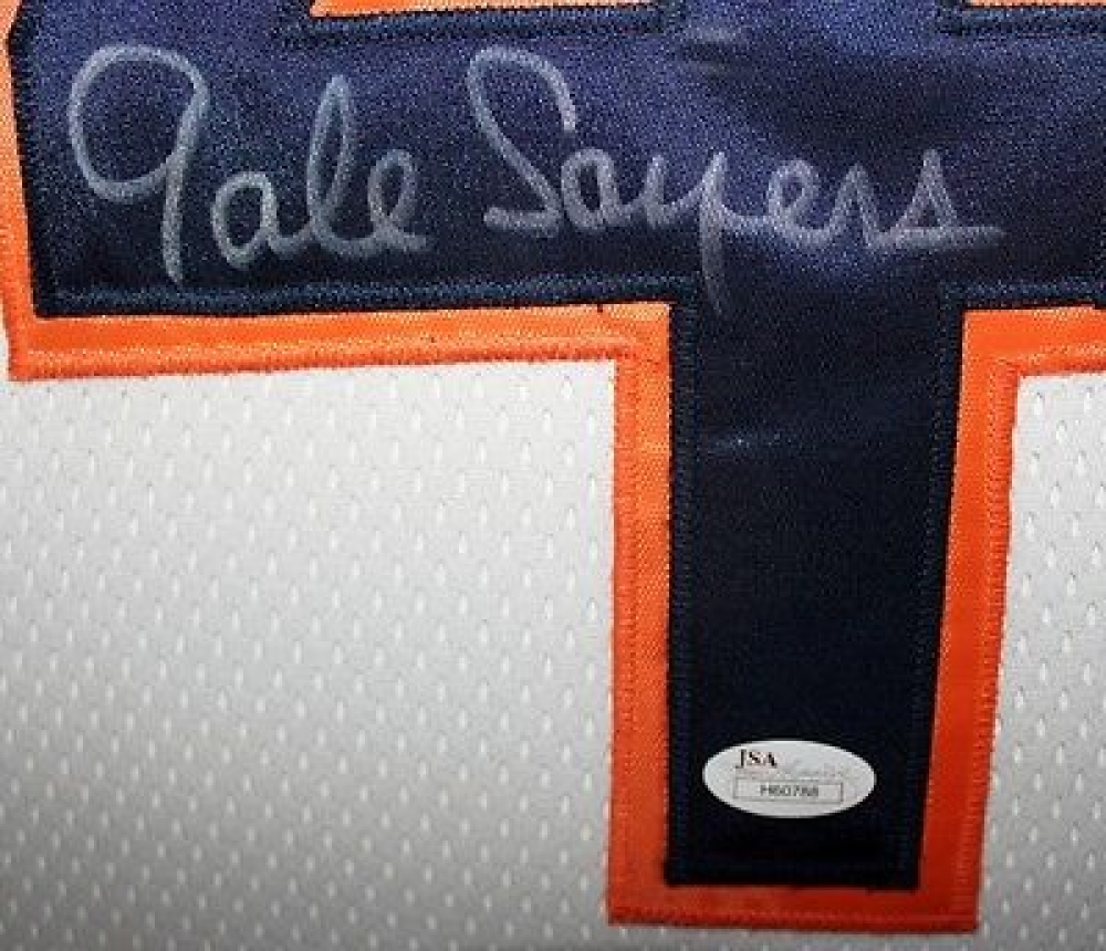 ed143c72c5e Gale Sayers Signed Chicago Bears 35x43 Custom Framed Jersey Display (JSA  COA) at PristineAuction