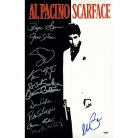 """Scarface"" 11x14 Poster Signed by Full-Cast with Al Pacino & (10) Others (PSA LOA)"