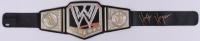 Hulk Hogan Signed WWE Championship Belt (Schwartz COA) at PristineAuction.com